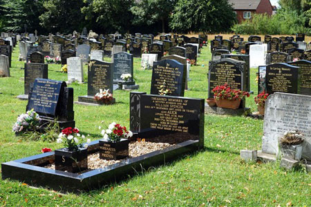 A Typical English Cemetery